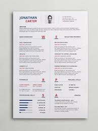Contemporary Resume Templates Free Bkperennials