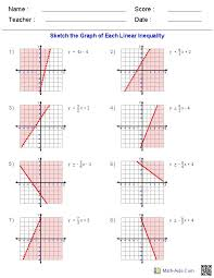 solving systems of equations by graphing worksheet algebra 1 them and try to solve