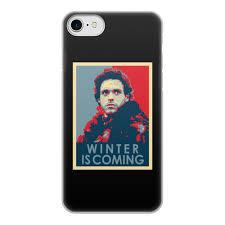 Чехол для iPhone 7, объёмная печать <b>Winter</b> is coming #2958125 ...