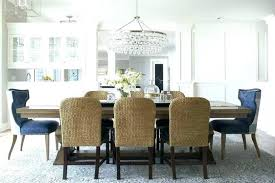 medium size of height of chandelier over dining table medium image for room with pass through