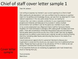 Cover Letter For Chief Of Staff Position Chief Of Staff Cover Letter