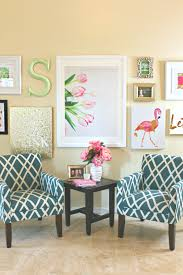 wall collage decor lovely lilly pulitzer inspired wall art collage
