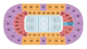 Matthews Arena Seating Charts For All 2019 Events