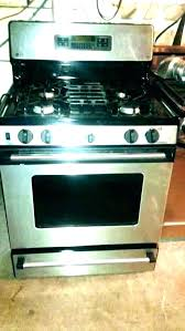 inch 4 burner gas profile oven not heating up glass top stove ed electric with downdraft