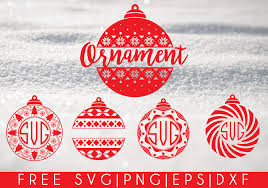 I have advent calendars with velcro for young children to decorate, advent boxes to count down to christmas with tiny gifts and even hanukkah ornaments for families that celebrate multiple religions. Christmas Ornaments Free Svg Png Dxf Eps Download