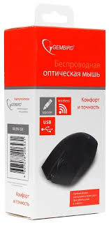 Купить Беспроводная <b>мышь Gembird MUSW-300 Black</b> USB ...