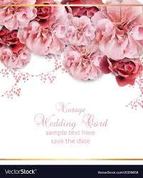 Wedding Design Download Wedding Invitation With Floral Design