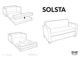 Divano Letto Ikea Solsta Con Idee Per Il Design Della Casa E 15 12 Divani Letto Ikea Solsta