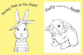 the too cute coloring book bunnies 9781499804683 in02