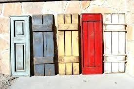 diy wood shutters exterior interior diy interior wood window shutters