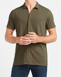 <b>Men's Short Sleeve</b> Casual Shirts - Short Sleeve Button Ups - Express