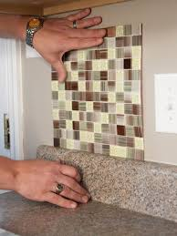 Kitchen Backsplash Diy How To Install A Backsplash How Tos Diy