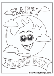 Earth Day Coloring Pages (Updated 2021)