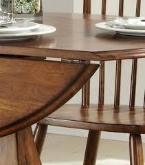 drop leaf pedestal tables excellent creations ii round drop leaf pedestal dining table liberty regarding pedestal
