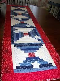 129 best Quilts: 4th of July images on Pinterest | Crafts, Food ... & Patriotic table runner I made for the 4th of July. Adamdwight.com