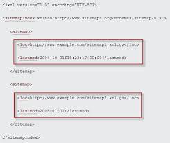 sle xml sitemap index file