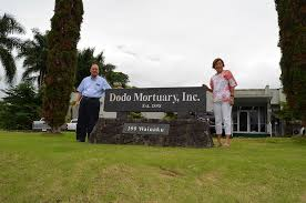 mitchell and his mom beverly in front of the company s cur facility in wainaku which