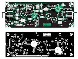 vhf fm antenna booster circuit fm antenna booster pcb layout the
