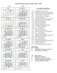 Calendars Edna Drinkwater School