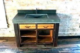 diy vessel sink sink vanity vessel sink vanity concrete bowl top for vanities with charcoal modern diy vessel sink