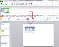 Export Excel Ranges As Power Point Tables My Engineering World
