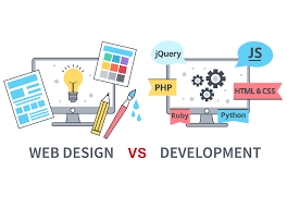 What is the difference between web design and web development? | Hacker Noon