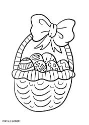 Disegni E Immagini Di Pasqua Da Stampare E Colorare Portale Bambini