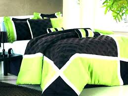green and black bedding sets lime duvet cover new quilt trend olive for covers