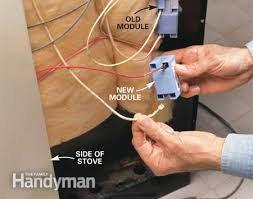 how to repair a gas range or an electric range the family handyman photo