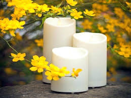 outdoor candles with remote candle instructions luminara white