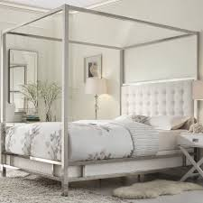 Image of: Modern Metal Canopy Bed