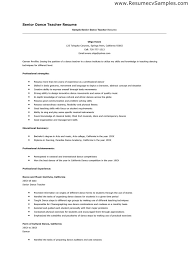 dance teacher resume job format download cv template sample . design teacher  resume sample ideas template dance ...