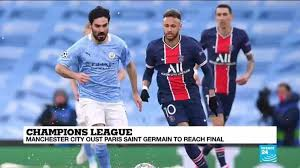 Manchester City beat PSG to reach first Champions League final - France 24