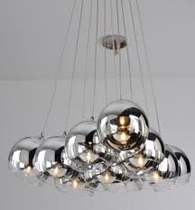 glass ball lighting. modrest gk01110 chrome glass ball ceiling light lighting
