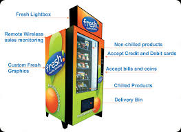 Fresh Vending Machines Fascinating Fresh Vending Machines Provide A Quick And Healthy Snack Techaw