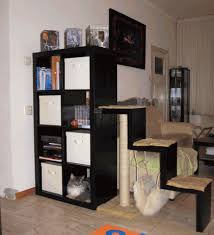 Bookcase With Scratching Post And Hammock Ikea Hackers