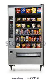Junk Food Vending Machines Gorgeous Vending Machine Full Of Junk Food Stock Photo 48 Alamy