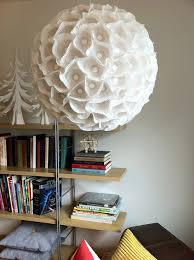 sculptural paper orb light paper globe chandelier44