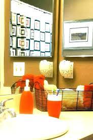marvelous orange bathroom set orange bathroom decor burnt orange and grey bathroom orange bathroom decor orange