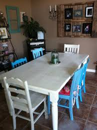 blue dining room furniture. How To Refinish A Dining Room Table With Good Color Choice : Blue Furniture R
