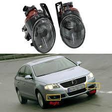 Passat B6 Fog Light New Car Light For Vw Passat B6 3c 2006 2007 2008 2009 2010 2011 Car Styling Front Halogen Fog Light Fog Light With Convex Lens