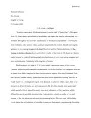 lgbt community essay lgbt community mr corbin shimone robinson  8 pages c s lewis in depth essay 2