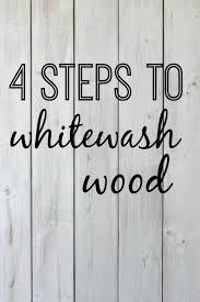 4 steps to whitewash wood diy tutorial for whitewashing a wooden pallet thedempsterlogbook