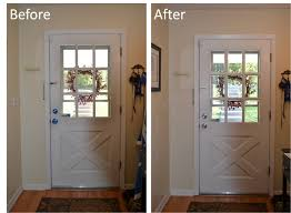 paint trim white front door futuristic oh