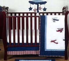 baby boy crib bedding sets sweet red blue white airplane baby boys crib bedding set baby baby boy crib bedding