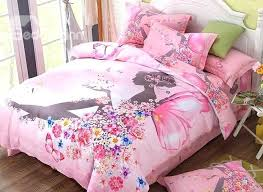 fairy bedding flower fairy printed cotton 4 piece pink duvet covers bedding sets next fairy bedding