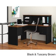 bestar somerville l shaped desk with hutch free today com 7894813
