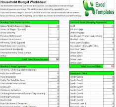 Household Expenses Calculator Household Budget Template Household Budget Calculator