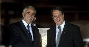 Anastasiades and Akinci Begin Intensified Talks on Territory in Mont-Pelerin