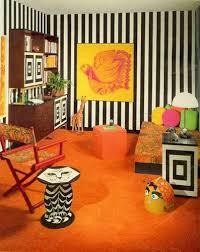 60s bedroom. mewnette justrebellion bedroom in orange from seventeen magazine october 1967 cat end table 60s o